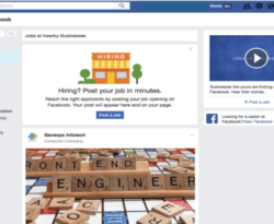 facebook jobs post
