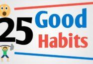 25 good habits