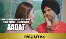 Aadat – Happy Hardy And Heer