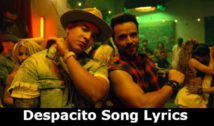 Despacito Song lyrics