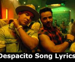 Despacito Song lyrics