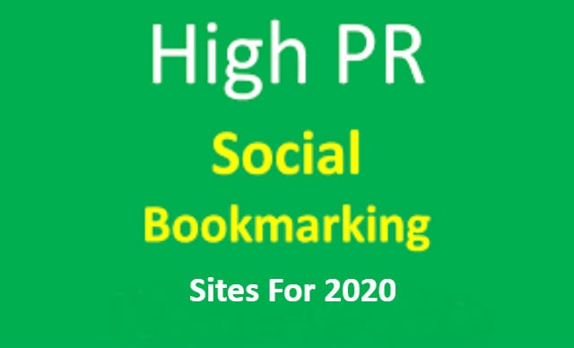 high pr social bookmarking website