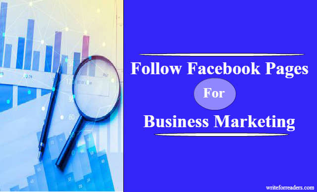 facebook page for business