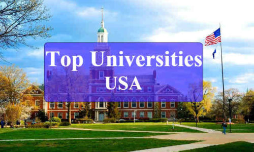 list of top Universities in usa