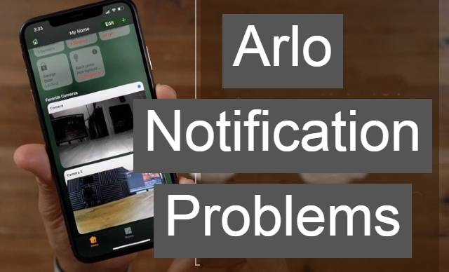 Arlo's email notification