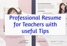 resume for teachers-min