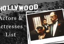 top 50 hollywood actor and actress